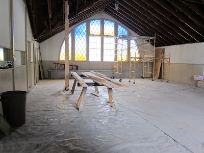 Week 1 of Chapel Renovations